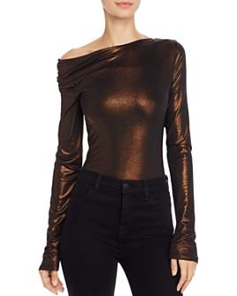ALIX NYC - Willett Metallic Bodysuit