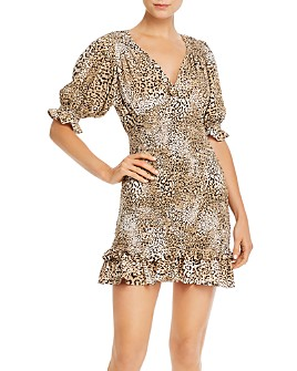 Faithfull the Brand - Marg Leopard-Printed Mini Dress