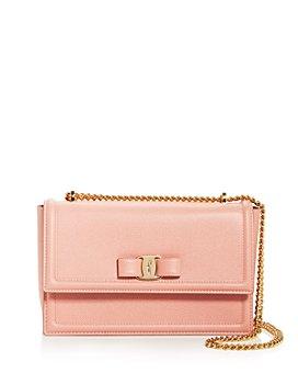 Salvatore Ferragamo - Medium Ginny Leather Shoulder Bag