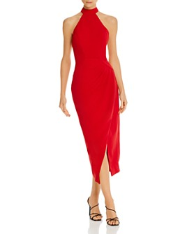 C/MEO Collective - Caliber Halter Midi Dress