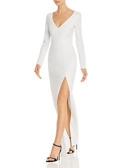 LIKELY - Leandra Long-Sleeve Gown