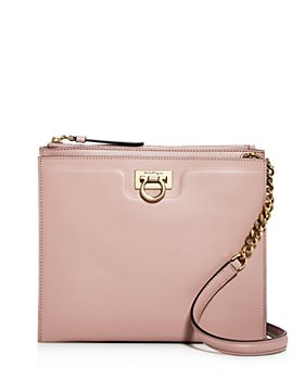 Salvatore Ferragamo - Small Gancini Square Leather Crossbody