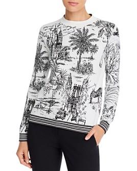 Marella - Nalut Printed Crewneck Sweater