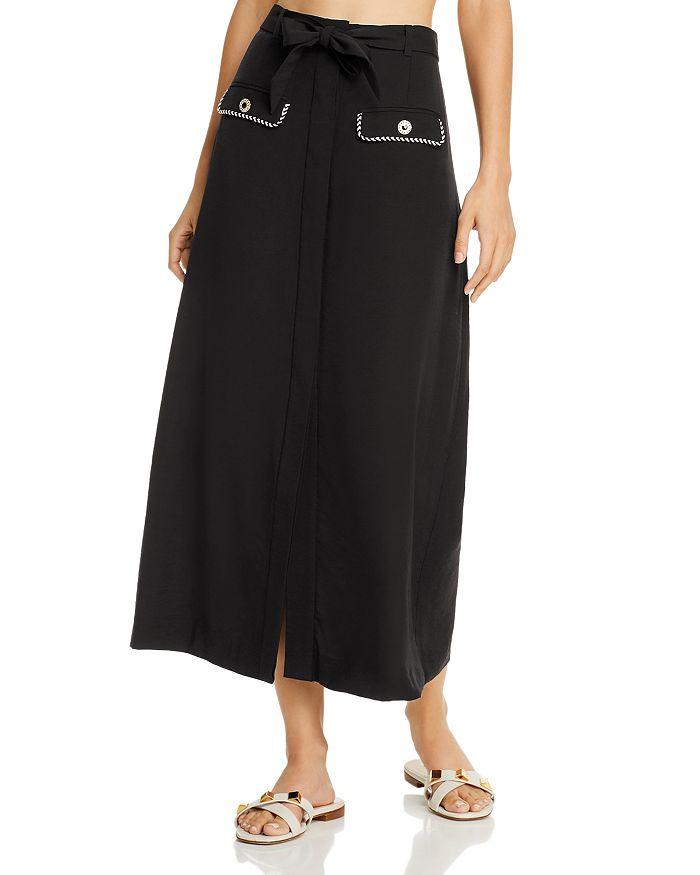 Jonathan Simkhai - Belted Midi Skirt Swim Cover-Up