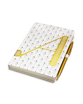 Anthropologie Home - Monogram Journal & Pen Set