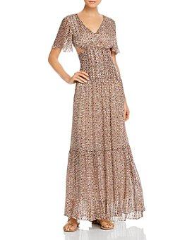 ba&sh - Divine Open-Back Maxi Dress