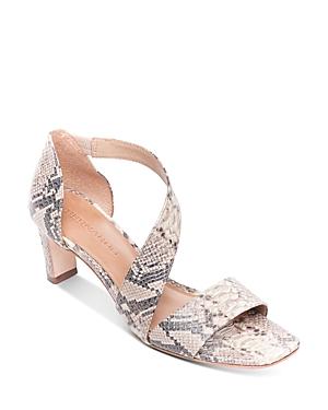 Bernardo Women\\\'s Camille Asymmetric Block Heel Sandals