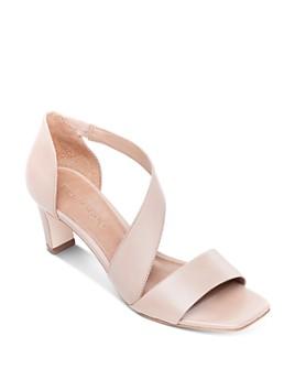 Bernardo - Women's Camille Asymmetric Block Heel Sandals