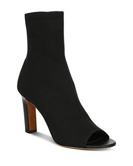 Vince - Women's Ezra Knit High-Heel Booties