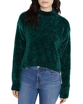 Sanctuary - Chenille Mock-Neck Sweater