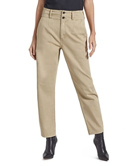 Current/Elliott - The Melia Straight-Leg Pants