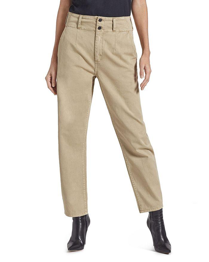 Current/Elliott - The Melia Straight-Leg Pants