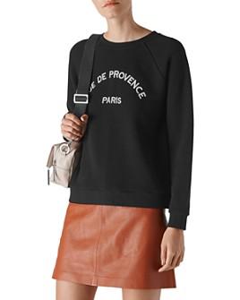 Whistles - Rue De Provence Sweatshirt