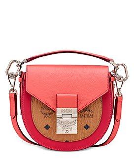 MCM - Patricia Visetos Mini Color-Block Shoulder Bag