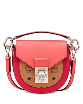 MCM - Patricia Visetos Mini Color-Block Shoulder Bag