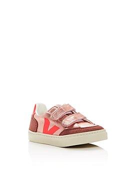 VEJA - Girls' V12 Metallic Low-Top Sneakers - Walker, Toddler