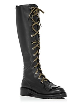Tabitha Simmons - Women's Markie Lace-Up Tall Boots