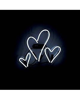 Oliver Gal - Hearts Neon Wall Art
