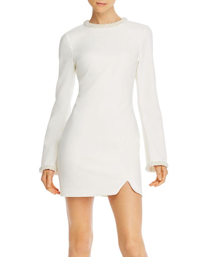 LIKELY - Mabel Bead-Embellished Mini Dress