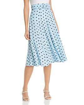 Faithfull the Brand - Luda Leopard-Print Belted Midi Skirt