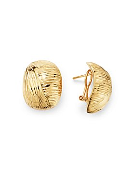 Bloomingdale's - Dome Stud Earrings in 14K Yellow Gold - 100% Exclusive