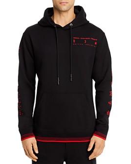 McQ Alexander McQueen - Embroidered Logo Hooded Sweatshirt