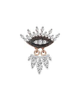 Kismet By Milka - 14K Rose Gold Diamond 10th Eye Regina Earring