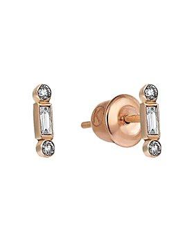 Kismet By Milka - 14K Rose Gold Diamond Stud Earrings