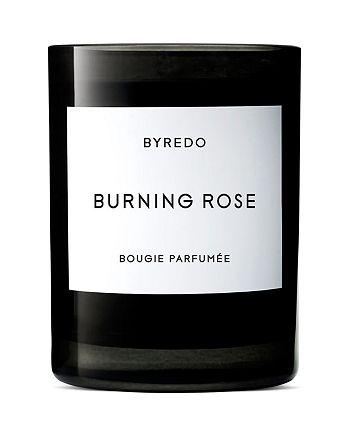 BYREDO - Burning Rose Fragranced Candle 8.5 oz.
