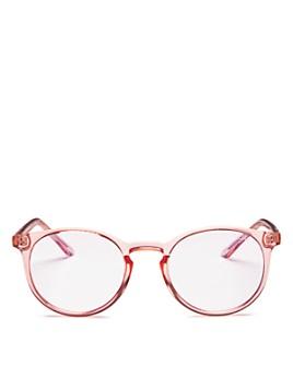 Quay - Women's Day Job Round Blue Light Glasses, 50mm