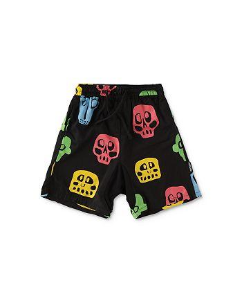 NUNUNU - Boys' Rowdy Mask Shorts - Little Kid