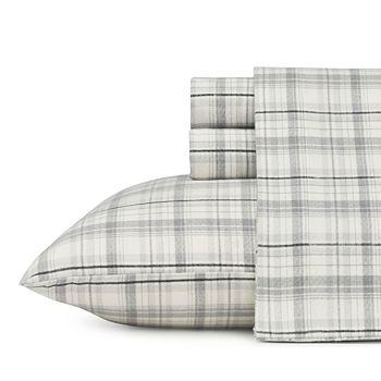 Eddie Bauer Home - Beacon Hill Flannel Sheet Set