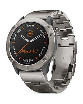 Garmin - Fenix 6X Pro Solar Titanium Link Bracelet Smartwatch, 51mm