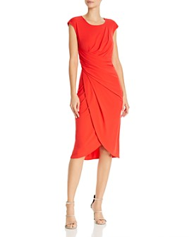 nanette Nanette Lepore - Draped Jersey Dress
