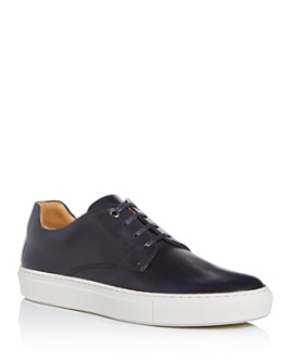 BOSS Hugo Boss - Men's Mirage Leather Low-Top Sneakers