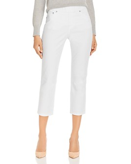 JAG Jeans - Maya Crop Jeans in White