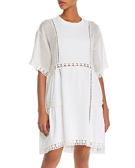 See by Chloé - Lace-Inset Trapeze Dress