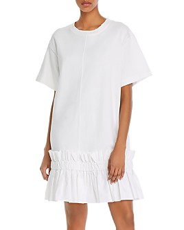 See by Chloé - Ruffled-Hem Shift Dress