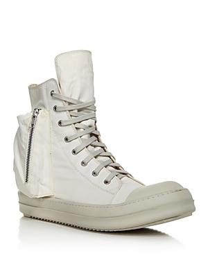 Drkshdw Rick Owens Men\\\'s Bauhaus High-Top Sneakers