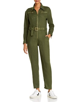 WeWoreWhat - Belted Utility Jumpsuit - 100% Exclusive