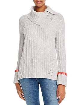 Rebecca Taylor - Cozy Button-Detail Ribbed Sweater