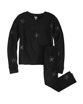 Flowers by Zoe - Girls' Star Appliqué Tee & Star Appliqué Leggings - Big Kid