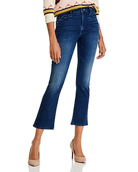 MOTHER - The Insider Ankle Flared Jeans in The Road To Paradise