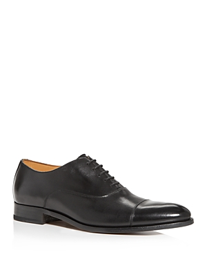 To Boot New York MEN'S FORLEY CAP-TOE LEATHER OXFORDS