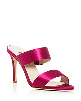 SJP by Sarah Jessica Parker - Women's Cornwall High-Heel Slide Sandals
