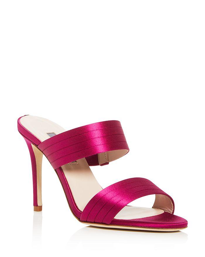 SJP by Sarah Jessica Parker - Women's Cornwall High-Heel Slide Sandals