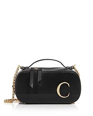 Chloe C Leather Camera Crossbody-Handbags