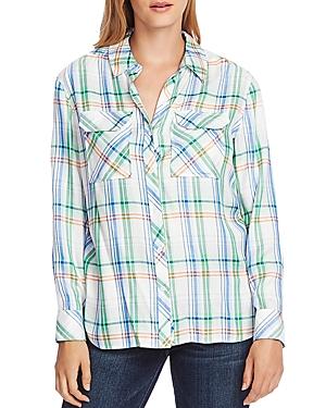 Vince Camuto Plaid Shirt-Women