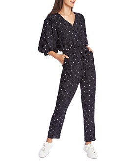 1.STATE - Dot-Print Jumpsuit