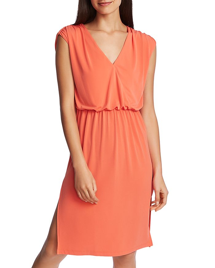 1.state Dresses SLEEVELESS BLOUSON CUTOUT DRESS